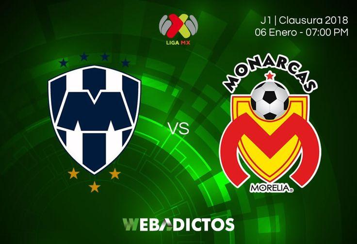 Monterrey vs Morelia, J1 de la Liga MX C2018 ¡En vivo por internet! - https://webadictos.com/2018/01/06/monterrey-vs-morelia-j1-c2018/