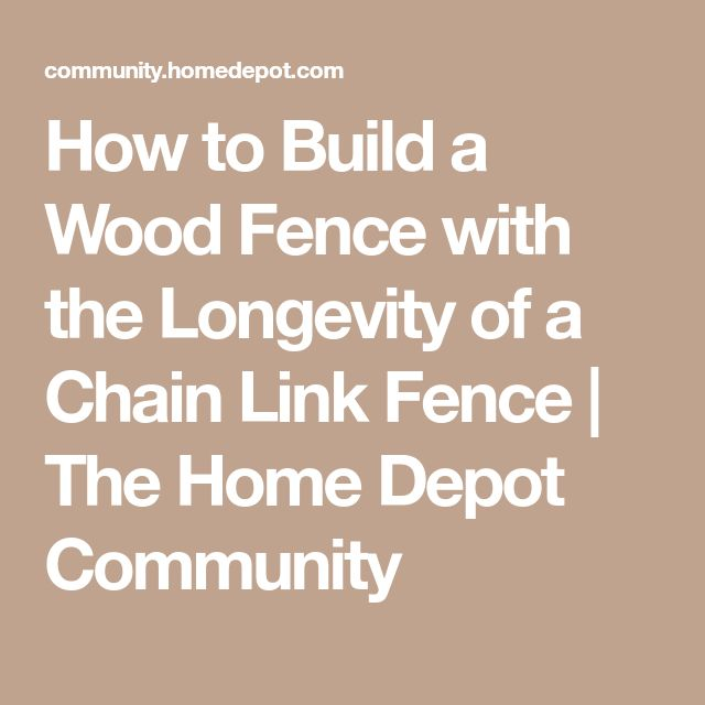 how to build a chain wire fence