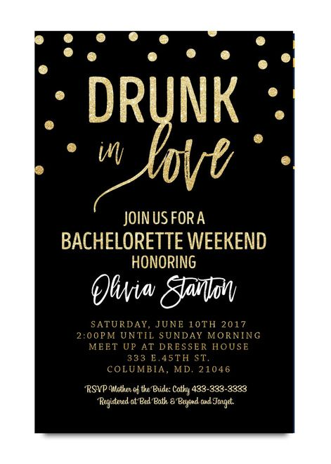 Best 25 Bachelorette party invitations ideas – Invitation Bachelorette Party