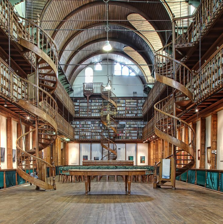 ...Monastery Library in Wittem, South of The Netherlands... www.steampunktendencies.com