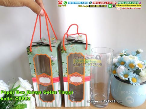 Paper Box Bunga Gelas Tinggi Hub: 0895-2604-5767 (Telp/WA)paper box bunga gelas tinggi,gelas,gelas tinggi unik,gelas cantik,gelas murah,gelas bagus,gelas lucu,gelas keren #gelastinggiunik #paperboxbungagelastinggi #gelaskeren #gelaslucu #gelasbagus #gelascantik #gelasmurah #souvenir #souvenirPernikahan