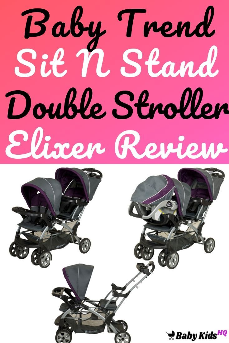 46 reference of baby trend sit n stand stroller manual in