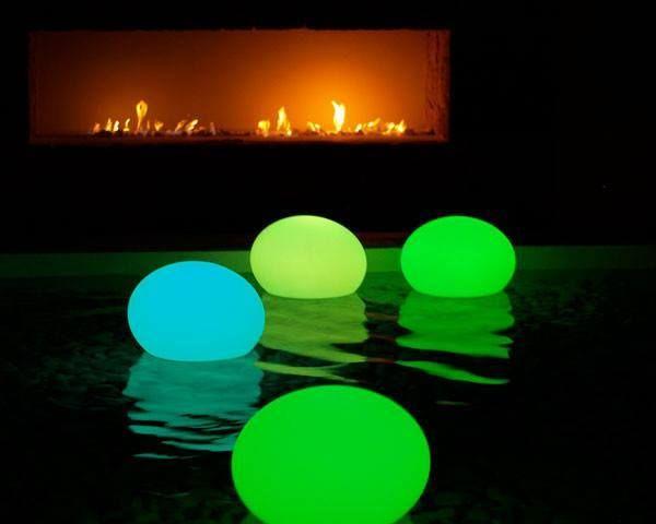 Flat eggs waterproof retroiluminados con leds.