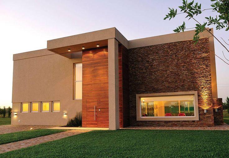 Mejores 39 im genes de fachadas de casas modernas en for Mejores fachadas de casas modernas
