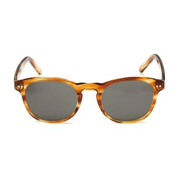 Michael Bastian x Randolph Tortoise JD. These limited edition Michael Bastian for Randolph sunglasses have a classic horn rim shape. $240.00