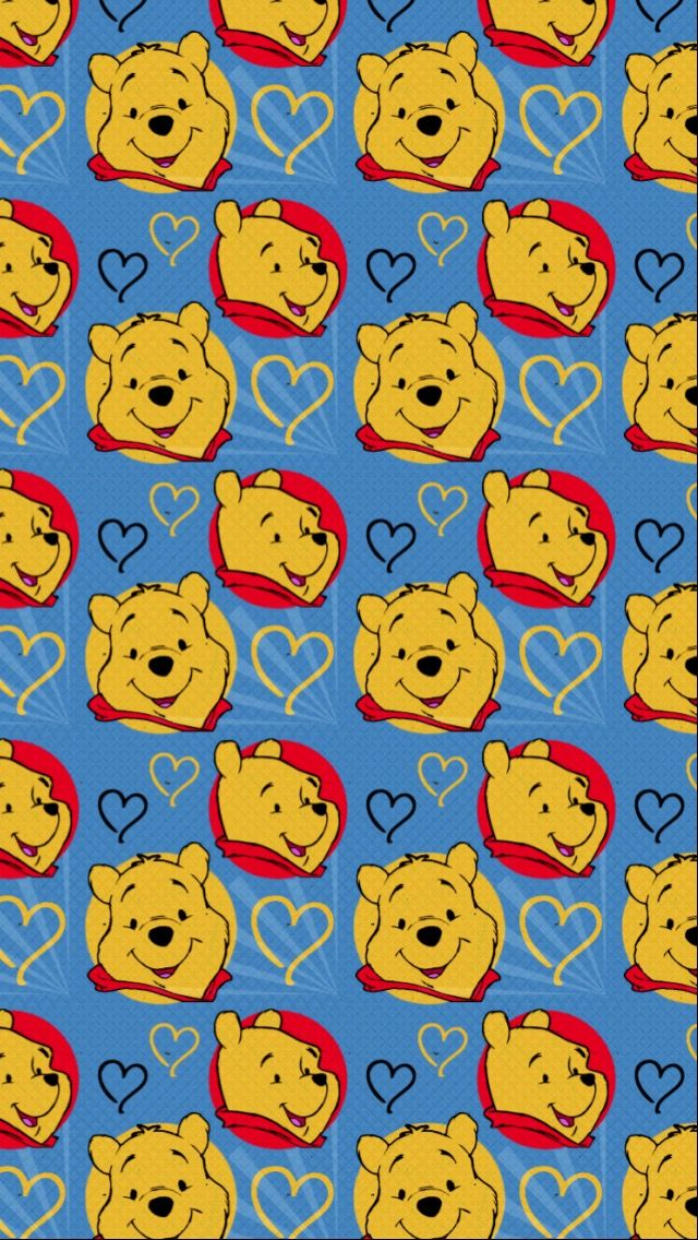 Winnie the pop wallpaper for iPhone 6