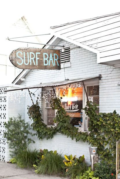 surf bar in folly beach, south carolina   One of my favorite places on earth!photo by ben williams