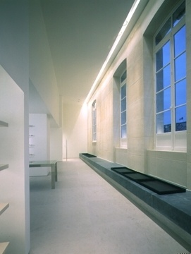 Jil Sander, former Boutique & Show room Paris _ by Gabellini Sheppard _