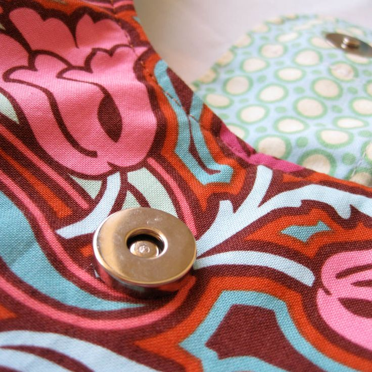 How To Install A Magnetic Snap Closure - A Tutorial - Emmaline Bags: Sewing Patterns and Purse Supplies