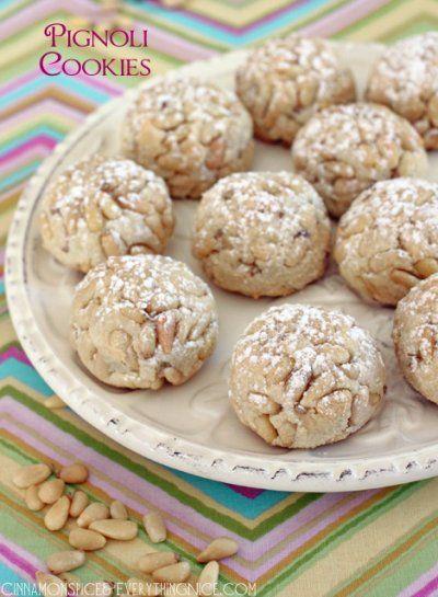 Lidia bastianich recipe for pignoli cookies