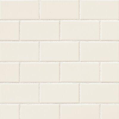 Parvatile Nantucket 3″ x 6″ Beveled Edge Ceramic Subway Tile