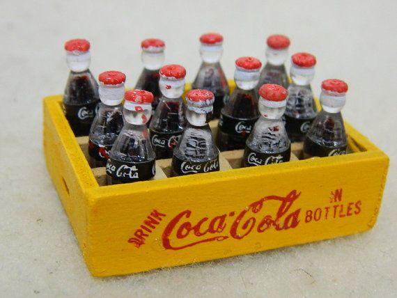 Vintage Coca Cola Case