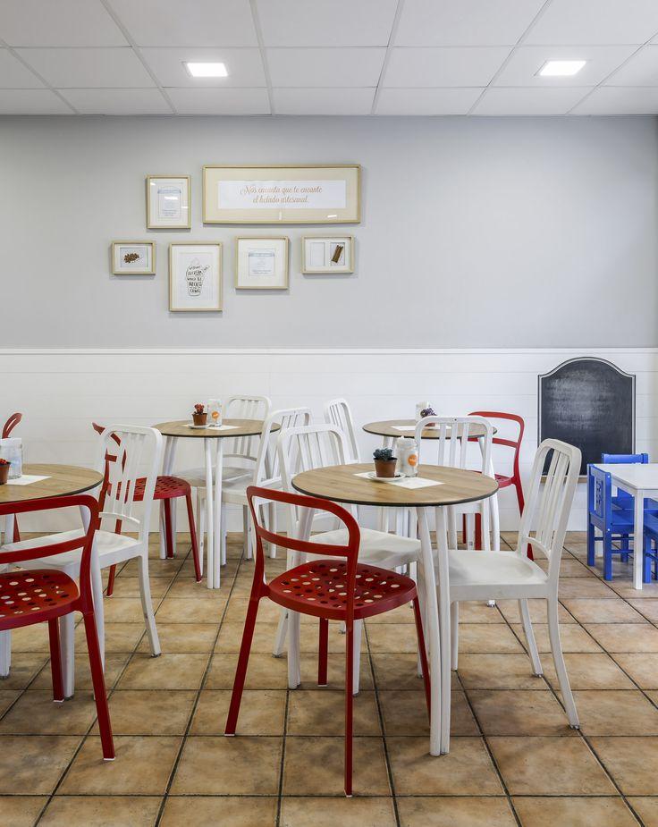 Heladería Carmela - Valencia - Interior Design Project - Boubau