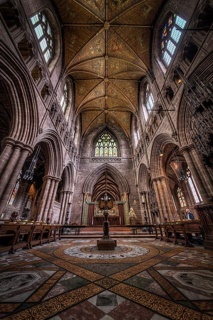 Chester Cathedral - The Choir by Mark Carline, via Flickr