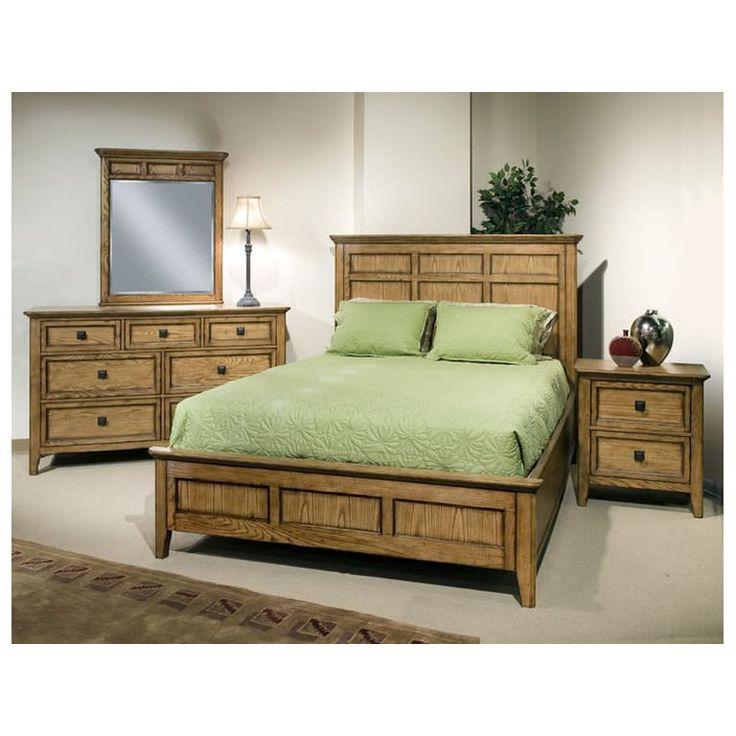 Imagio Home Furniture Queen Storage Bed Birch
