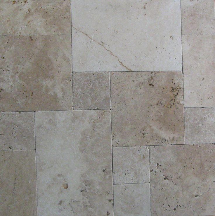 Travertin Terrassenplatte Medium