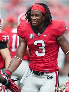 Georgia running back Todd Gurley is 247Sports National True Freshman of the Week after his 130-yard, two touchdown performance in a 48-3 win against Vanderbilt at Sanford Stadium in Athens, Ga.