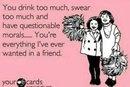 For my best friends.... It's true.