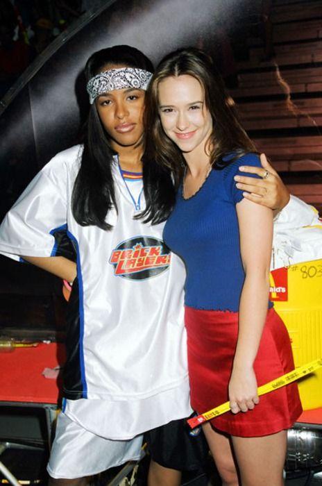 Aaliyah & Jennifer Love Hewitt