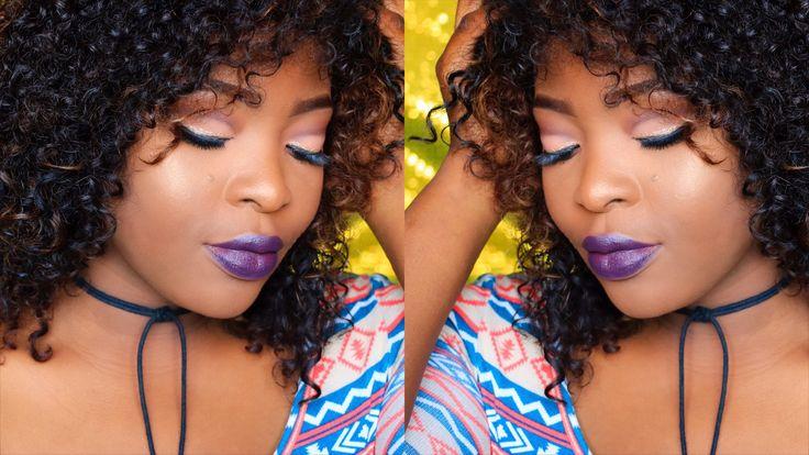 Maquiagem  Tumblr Girl- Mac Cyber lipstick