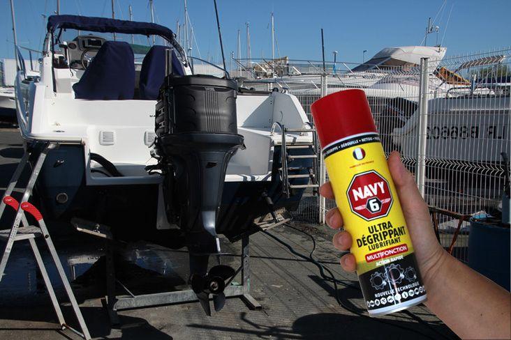 Navy 6 Un Lubrifiant Da C Grippant Tra S Efficace Lubrifiant Degrippant Materiel De Securite