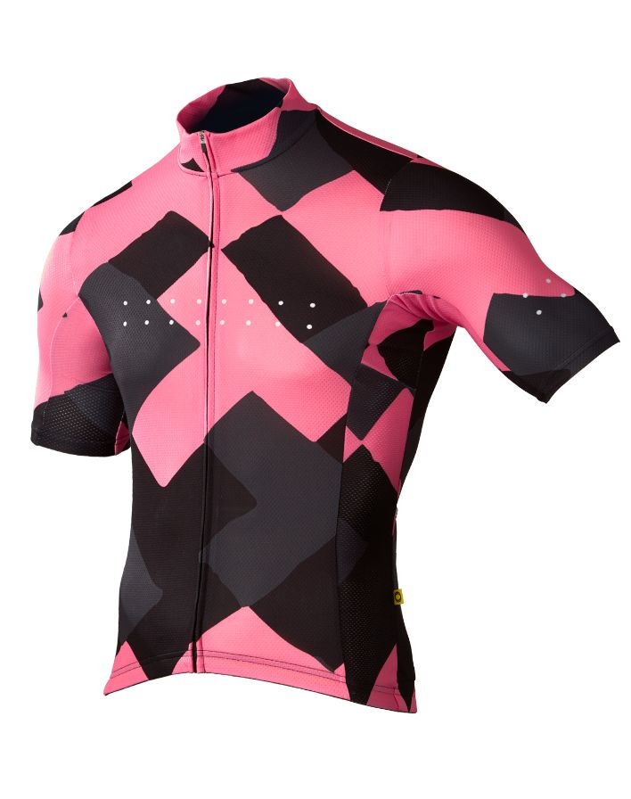 The Pedla Full Gas Aero / Segment Jersey [ M ] - Musk Pink