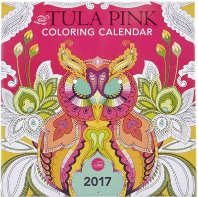 Tula Pink 2017 Coloring Calendar