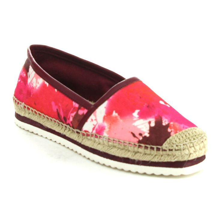 C LABEL ATAMI-1 Women's Comfort Slip On Espadrille Flat Shoes,RED,7 -- Read more reviews of the product by visiting the link on the image.