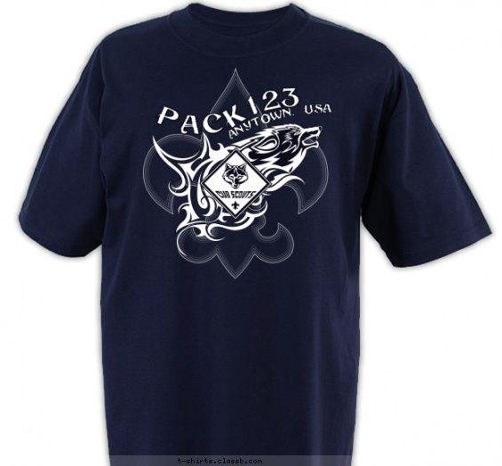 35 best Cub Scout™ Pack T-shirt Design Ideas images on Pinterest ...