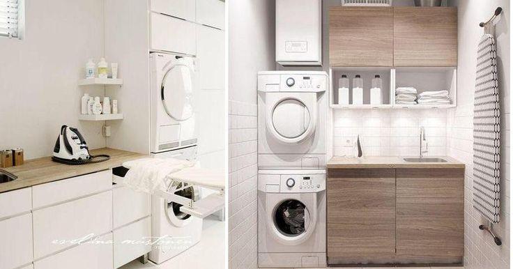 Cuartos de lavado con mucho estilo, ¡ideas para el tuyo!