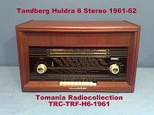 Tandberg Huldra  6 Section Teak
