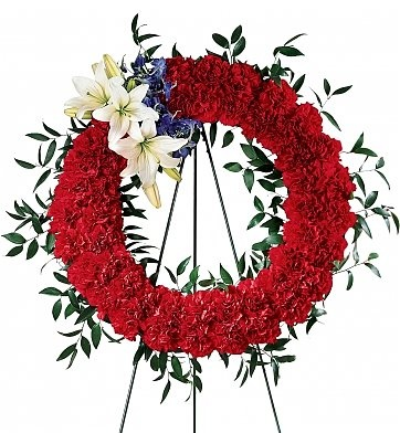 To Honor One's Country Wreath - $194.95