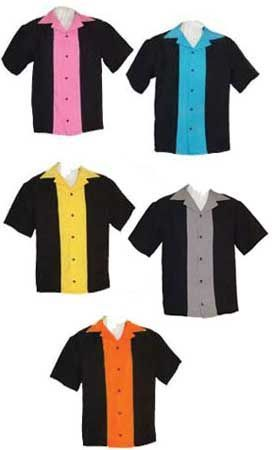 Bowling Party : Bowling shirts for kids : Youth Classic 57 Retro Bowling Shirt (Assorted Colors)
