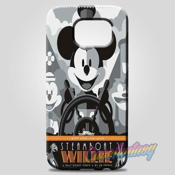 Steamboat Willie Tom Whalen Disney Mickey Mouse Samsung Galaxy Note 8 Case | casefantasy