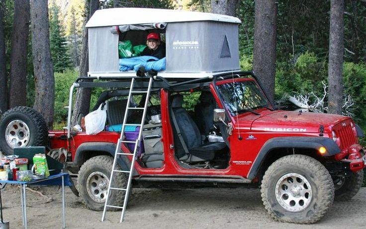 2009 Overland Expo Jeep Wrangler Tents