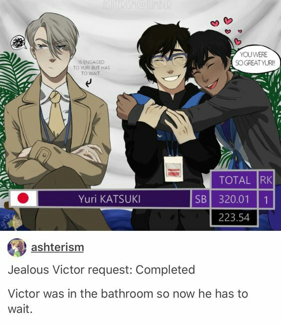 Image result for victor and yuuri at a karaoke bar