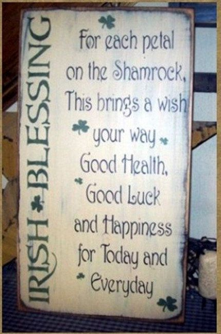 Hey, I found this really awesome Etsy listing at http://www.etsy.com/listing/119255995/irish-blessing-saying-primitive-sign
