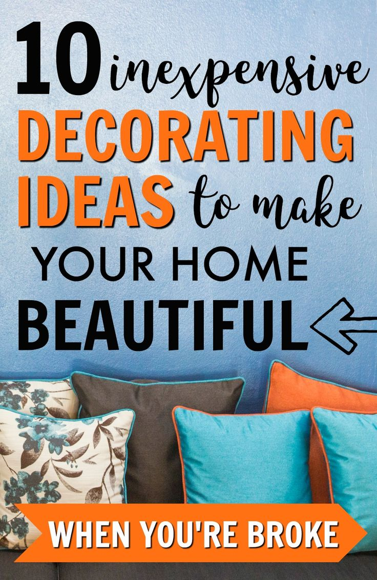 Decorate on a Budget | Home Decor for Less | Save Money | Frugal Living Tips #savemoney