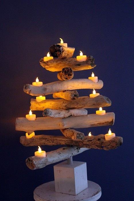 Christmas table centrepiece