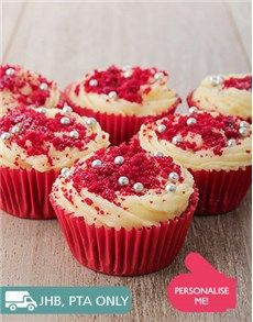Birthday Gifts, Presents and Flowers for Her: Red Velvet Cupcakes!