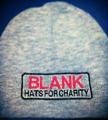 Blank Beanie   Blankhatsforcharity