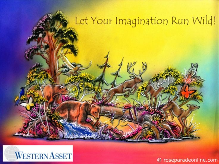 Western Asset Rose Parade 2016 Float – Let Your Imagination Run Wild