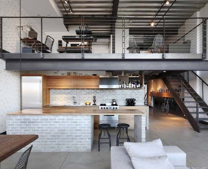 stylish living urban loft interior home decor luxury - Urban Home Design