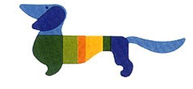 2012 Munich Olympic mascot - Dachshund: Resistance, Strength, Intelligence