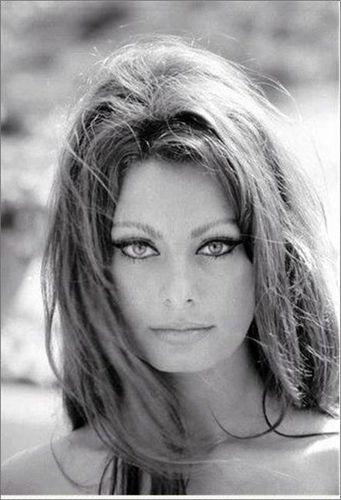 Sophia Loren. Una belleza de todos los tiempos.