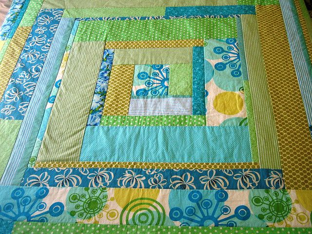 Great baby quilt idea