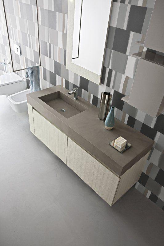 Oltre 25 fantastiche idee su bagni grigio chiaro su pinterest piccoli bagni grigi vernice - Bagno grigio chiaro ...