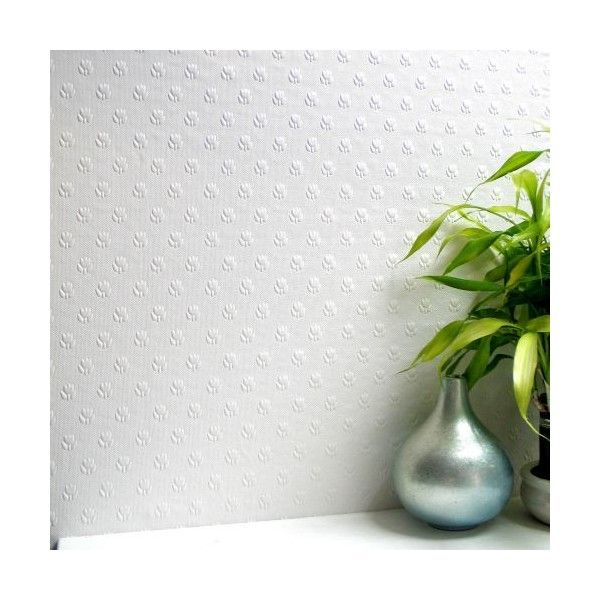 Brewster 437-RD353 Salisbury Paintable Anaglytpa Original Wallpaper (€35) ❤ liked on Polyvore featuring home, home decor, wallpaper, paintable, brewster home fashions wallpaper, polka dot wallpaper, brewster home fashions, dots wallpaper and polkadot wallpaper