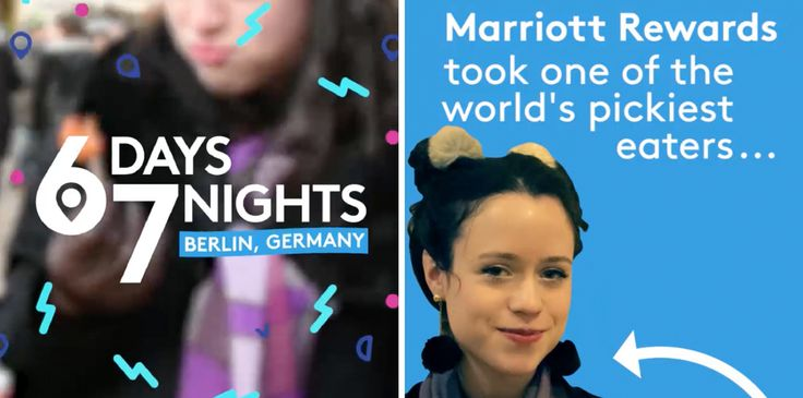 Marriott Rewards has introduced its broad portfolio of properties and loyalty scheme to social media with a four-part original Snapchat series called  'Six Days, Seven Nights'.