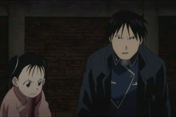 Roy Mustang and Riza Hawkeye hug. | Words cannot describe how much I love this. <3 <3
